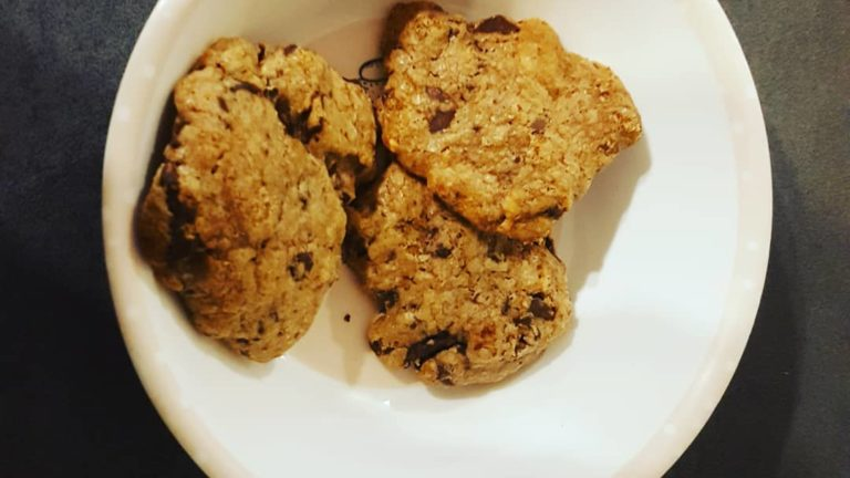 Mes cookies parfaits cramberries chocolat